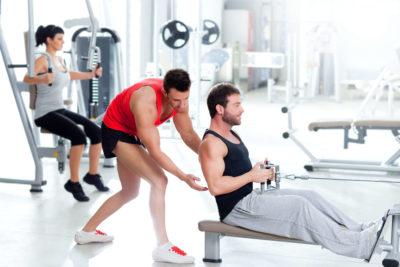 Trening z trenerem i zarobki